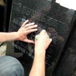 Выездная гравировка памятников